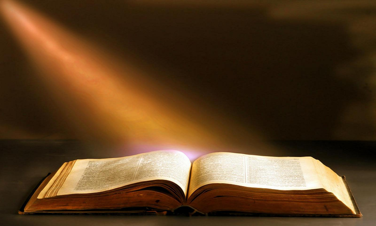 light and bible